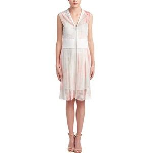 Elie Tahari Emma Perforated Dress
